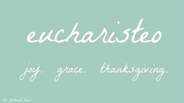 Ann Voskamp, One Thousand Gifts · eucharisteo