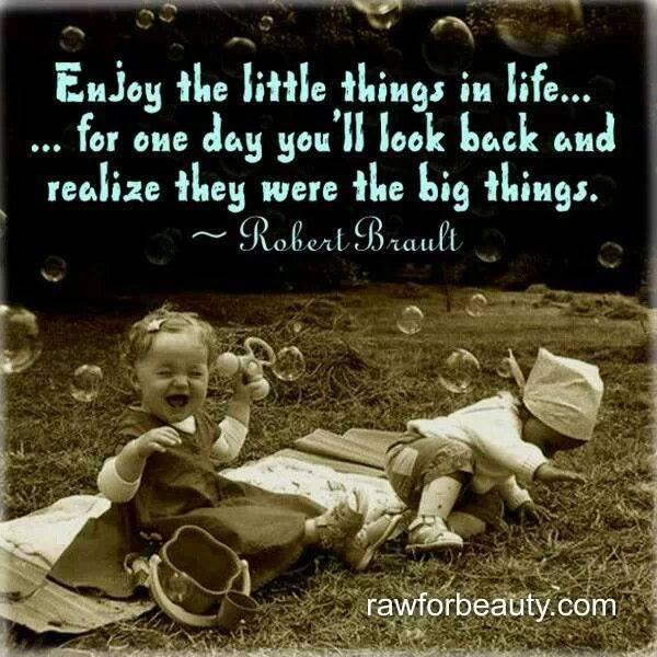 Enjoy the Small