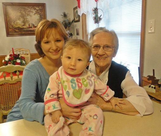 Grandma, Peanut, & Me